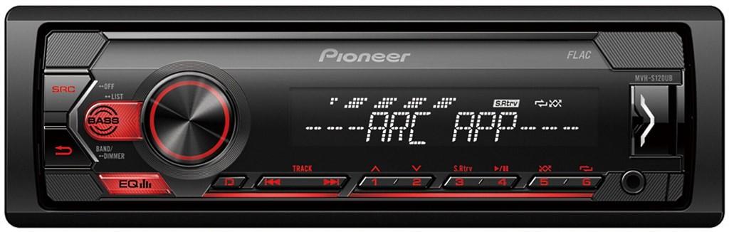 PIONEER MVH-S120UB BEZ CD/USB /UBG/UBW/UBA dostępny 4 kolorach