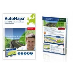 AutoMapa Europa wersja BOX
